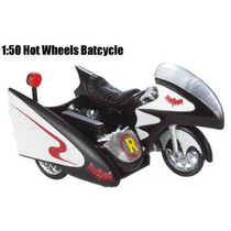 Hot Wheels Batman 1:50 1966 Tv Series Batcycle