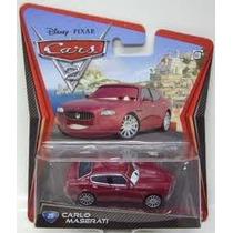 Disney Pixar Cars 2 Carlo Masserati Novo