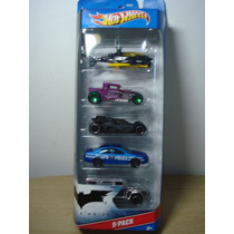 Five Pack Batman - Dark Knight - Hot Wheels 2012