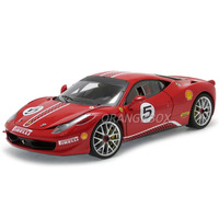 Ferrari 458 Itália Challenge #5 1:18 Hot Wheels Elite X5486