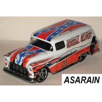 Chevy Panel 55 General Lee Custom Hot Wheels 1/64