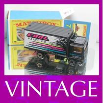 1981 Matchbox Lesney Volvo Caminhão Mini Carro 1/64 Moko