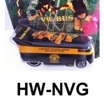 Hot Wheels Vw Drag Bus Kombi Volkswagen Us Army Lacrada