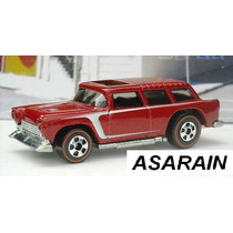 55 Chevy Nomad Since 68 Set 40 Anos Hot Wheels - 1/64