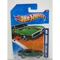 (bx13) Hw 2011 Hot Wheels 67 Pontiac Firebird 400 Walmart