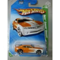 Hot Wheels T-hunt Chevy Camaro Concept (rodas Simples) 2010