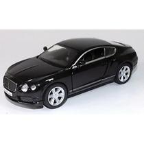 Miniatura Carrinho Bentley Continental Gt V8 1/32 Cores
