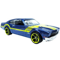 71 Ford Maverick Grabber Gt Hot Wheels 2011 Azul Lacrado
