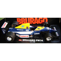 Formula 1 Nigel Mansell Williams Fw14 1/18 Burago Senna