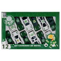 Lindíssimo Kit Oficial Com 12 Carrinhos Do Palmeiras !!!