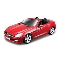 Kit P/ Montar Mercedes Benz Slk 1:24 Maisto 39206-vermelho