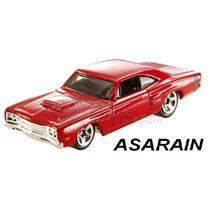 Dodge Coronet Super Bee Vermelho Hot Wheels 1/64