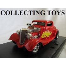 Ford 34 High Tech - Com Som E Luz - Hot Rod - 1:18 - Ertl