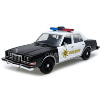 Dodge Diplomat 1986 Police 1:24 Motormax 76470