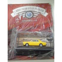 Miniatura Ford Corcel (1970) Carros Inesquecíveis Brasil