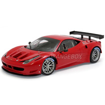 Ferrari 458 Italia Gt2 1:18 Hot Wheels Elite X2860