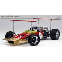 Miniatura Exoto Lotus Type 49b Graham Hill 1969 Duas Asas