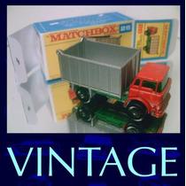 1969 Matchbox Lesney Gmc Truck Miniatura De Ferro 1/64