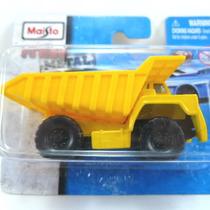Maisto Fresh Metal Dump Truck . Novo No Blister.