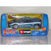 Burago Street Fire Lamborghini Gallardo Polizia-escala 1/43