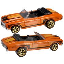 Hot Wheels T-hunt De 2012, 70 Chevy Chevelle Convertible