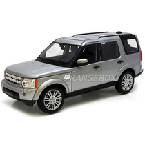 Land Rover Discovery 4 1:24 Welly #24008w-prata