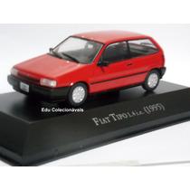 Miniatura Fiat Tipo Carros Inesquecíveis Brasil 1/43