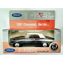 Welly 1957 Chevrolet Bel Air 1/43 (top Home)