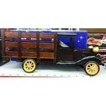Miniatura Caminhão Madeira Caçamba Porta Garrafa