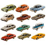 Coleção 12 Miniaturas Carros Classicos Nacionais 2 Edicao