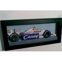 Quadro 3d Formula 1 Ayrton Senna Toleman Tg