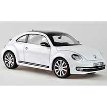 New Beetle 2013 1/18 Welly Vw Volkswagen Fusca Miniatura