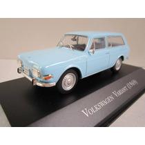 Colecao Carros Inesqueciveis Do Brasil- Wv Variant - 1969