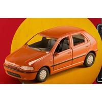 Miniatura Fiat Palio 1995 - Classicos Nacionais 2 - Extra