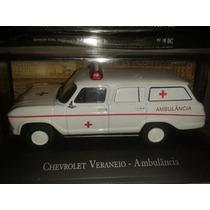 Veraneio Ambulância Edição 02, Miniaturas Carros De Serviço2