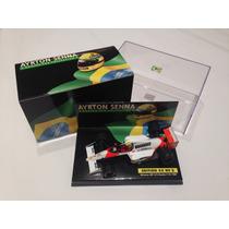 Ayrton Senna Collection Mclaren Mp 4/5 1989 1/43 Minichamps