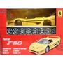 Kit Para Montar Ferrari F50 1:24 Maisto 39923-amarelo