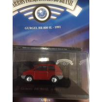 Miniatura Carros Inesquecíveis Gurgel Br-800 1989 Edição 52