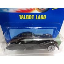 Hot Wheels - Talbot Lago - 1992 - Lacrado E Raro!