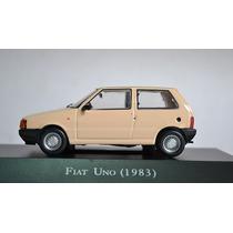 Miniatura Fiat Uno Carros Inesquecíveis Do Brasil + Revista