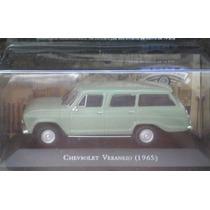 Chevrolet Veraneio (1968) Carros Brasileiros 1/43 Lacrado