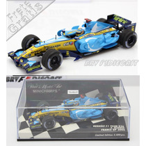 1/43 Minichamps Renault R26 Alonso Bi Campeão Da F1 2006