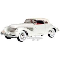Cord 810 1936 1/18 Signatures Models Miniatura Linda Antiga