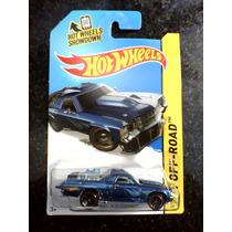 Custom 71 El Camino Azul T-hunt Hot Wheels 2014 Lote L
