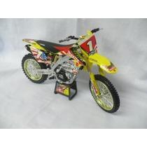 Miniatura Réplica Suzuki 1:12 Ryan Dungey Motocross Trilha