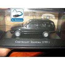 Coleção Carros Inesquecíveis Do Brasil Altaya Chevy Ipanema