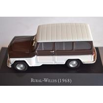 Coleção Carros Inesquecíveis Do Brasil - Rural Willys