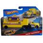 Caminhão Hot Wheels Truckin Transporter Amarelo C0628