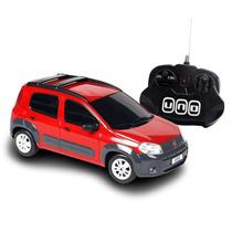 Fiat Uno Way Vermelho (controle Remoto)