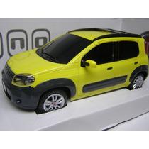 Fiat Uno Way Amarelo (controle Remoto)